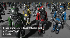 Space Engineers community is 500,000 strong!