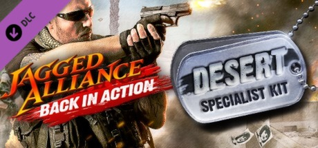 Jagged Alliance - Back in Action: Desert Specialist Kit DLC