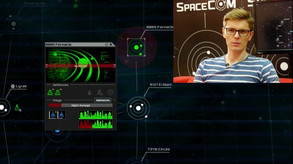 SPACECOM - introduced by the producer of the game