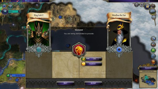 Screenshot of Warlock - Master of the Arcane