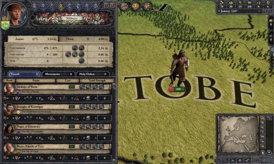 Crusader Kings II: Mongol Faces (DLC)