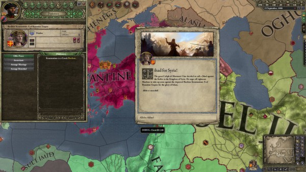 Expansion - Crusader Kings II: Sword of Islam (DLC)