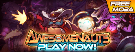 Now Free to Play on Steam - Awesomenauts