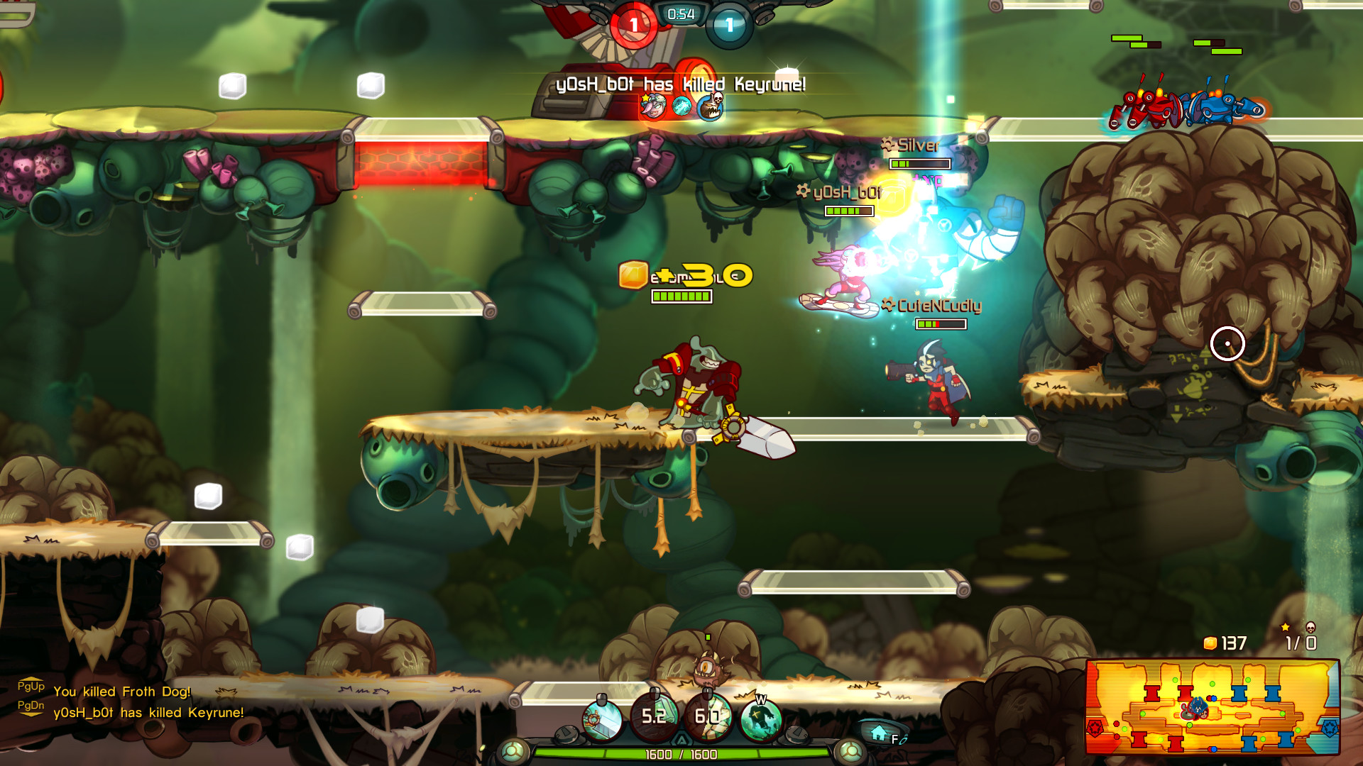Awesomenauts The 2d Moba On Steam