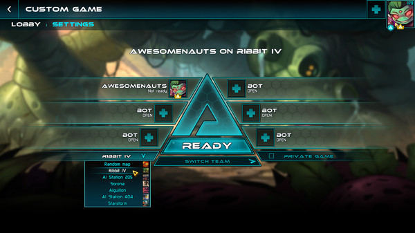 Awesomenauts - the 2D moba