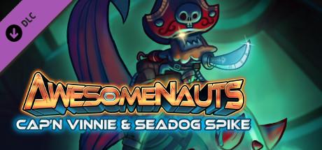 Купить Awesomenauts - Cap'n Vinnie & Seadog Spike Skin (DLC)