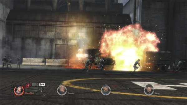 скриншот The Expendables 2 Videogame 3