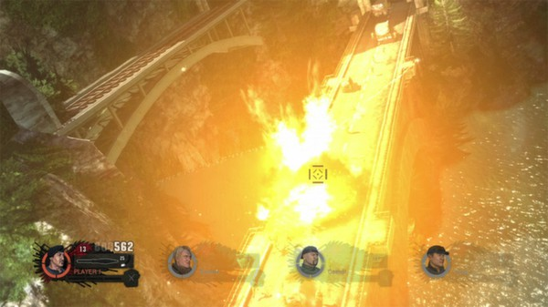 скриншот The Expendables 2 Videogame 1