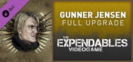 The Expendables 2 Videogame - Gunnar Jensen Upgrade DLC