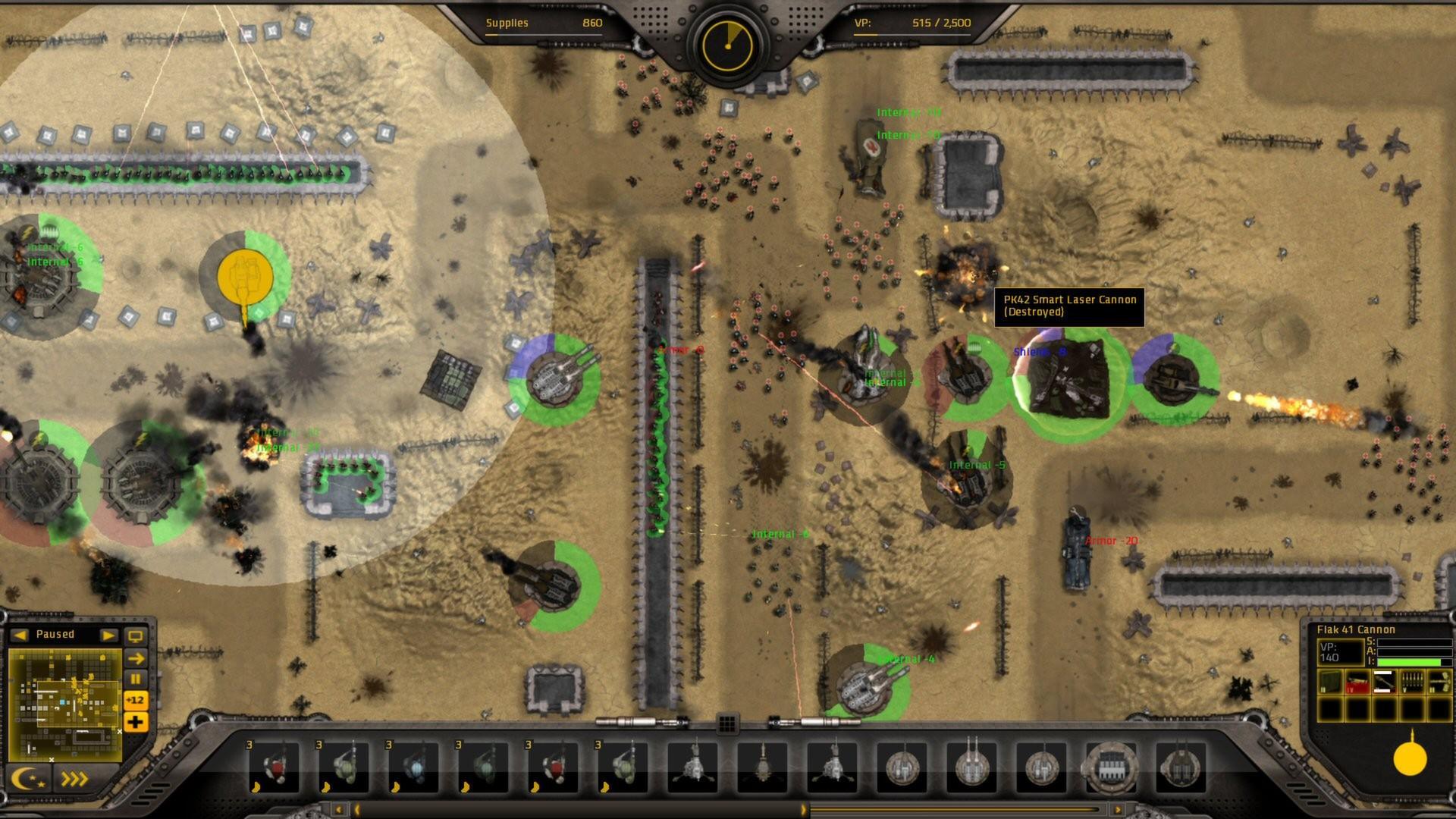 Gratuitous Tank Battles Screenshots