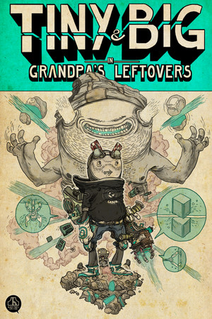 Tiny and Big: Grandpa's Leftovers poster image on Steam Backlog