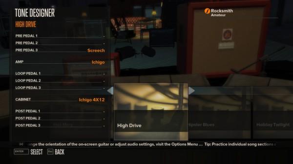 Rocksmith - Tone Customization - Time Saver Pack (DLC)
