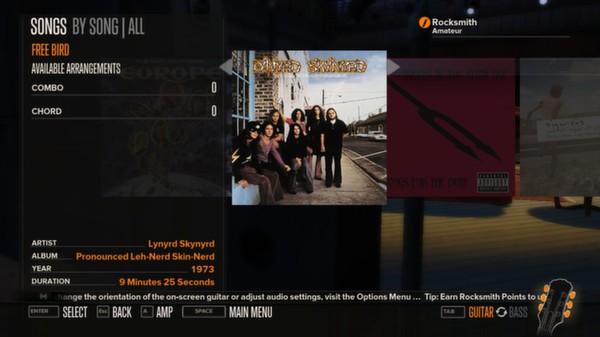 Rocksmith - Lynyrd Skynyrd - Free Bird (DLC)