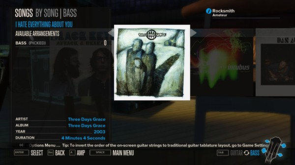 Rocksmith - Three Days Grace - I Hate Everything About You (DLC)