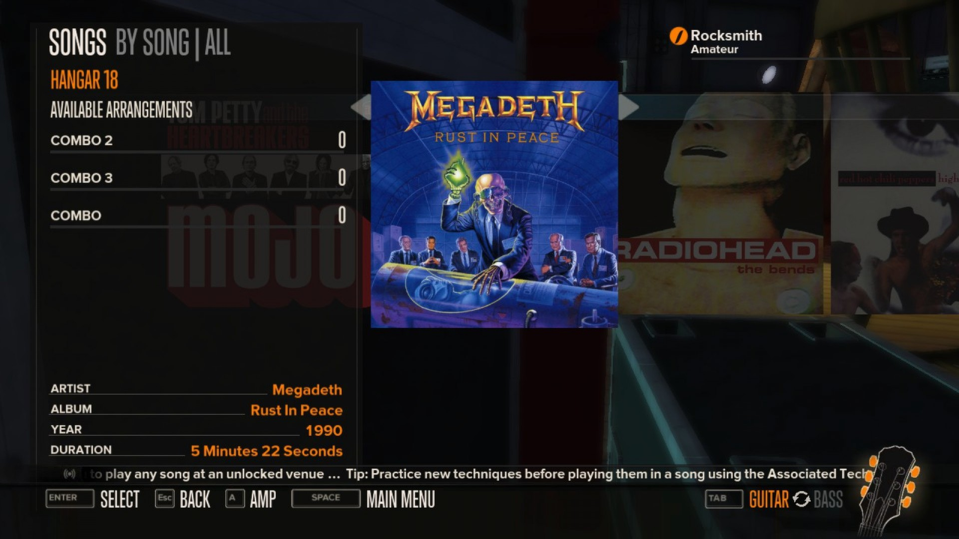 Rocksmith Megadeth Hangar 18 On Steam