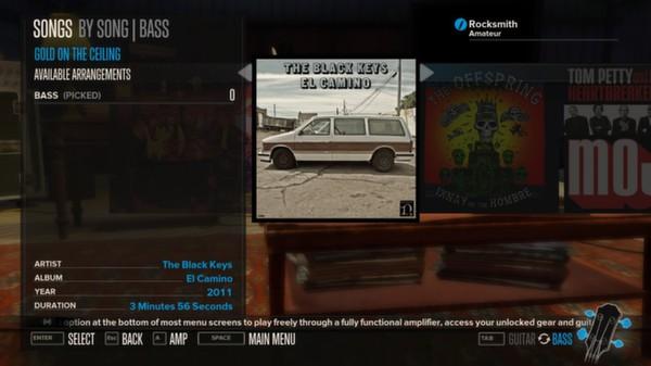 Rocksmith - The Black Keys - Gold on the Ceiling (DLC)