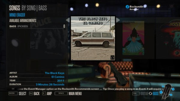 Rocksmith - The Black Keys 3-Song Pack (DLC)