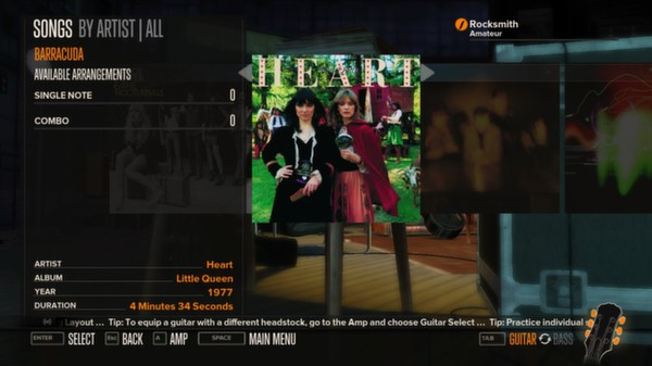 Rocksmith - Heart - Barracuda (DLC)
