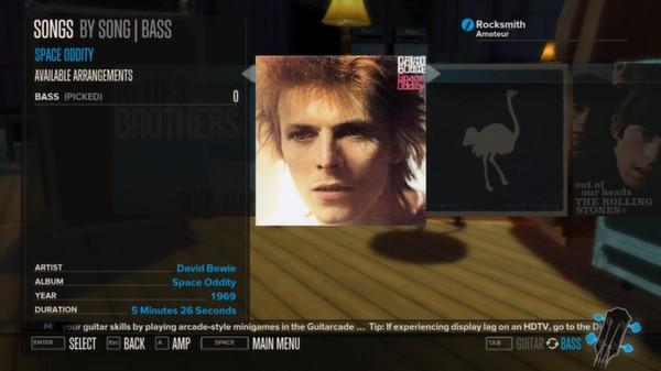 Rocksmith - David Bowie - Space Oddity (DLC)