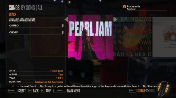 Rocksmith - Pearl Jam - Black (DLC)