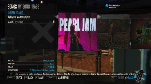 Rocksmith - Pearl Jam - Jeremy (DLC)