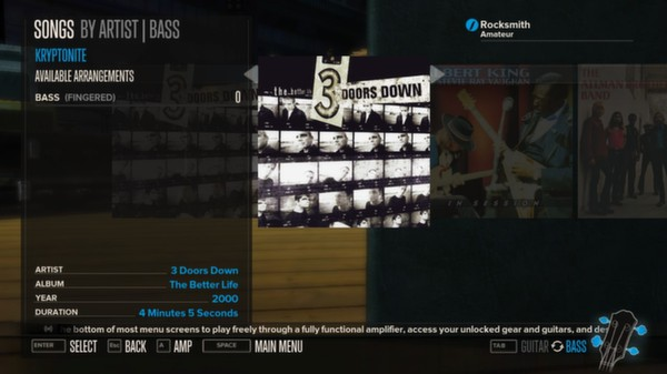 Rocksmith - 3 Doors Down - Kryptonite (DLC)