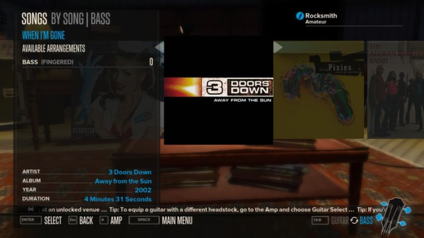 Rocksmith - 3 Doors Down - 3-Song Pack (DLC)