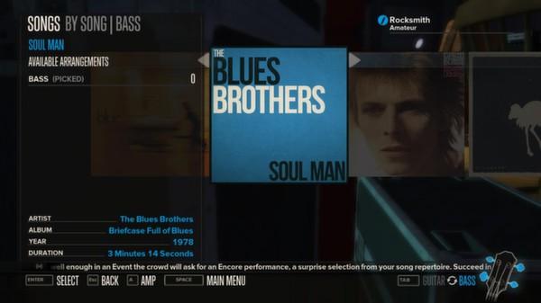 Rocksmith - The Blues Brothers Band - Soul Man (DLC)
