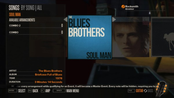 Rocksmith - The Blues Brothers Band - Soul Man (DLC)