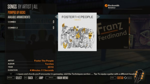 Rocksmith - Foster the People - Pumped Up Kicks (DLC)