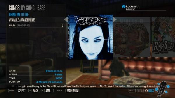 Rocksmith - Evanescence - Bring Me to Life (DLC)