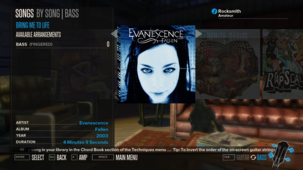 Rocksmith - Evanescence - Bring Me to Life (DLC)