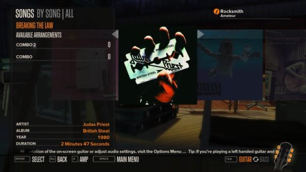 Rocksmith - Judas Priest - Breaking the Law (DLC)
