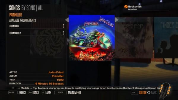 Rocksmith - Judas Priest - Painkiller (DLC)