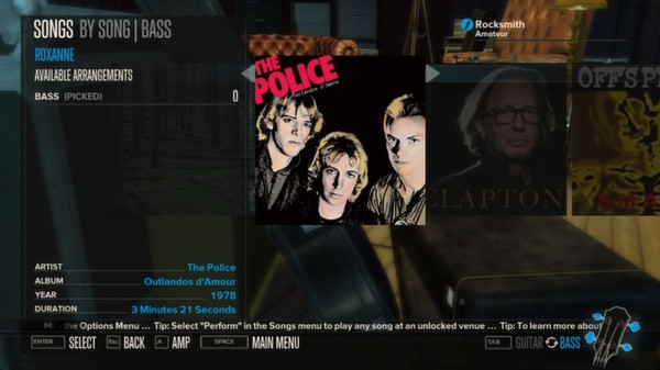 Rocksmith - The Police - Roxanne (DLC)