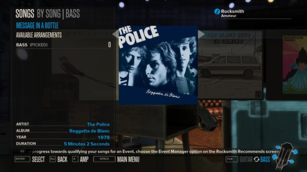 Rocksmith - The Police - Message In A Bottle (DLC)