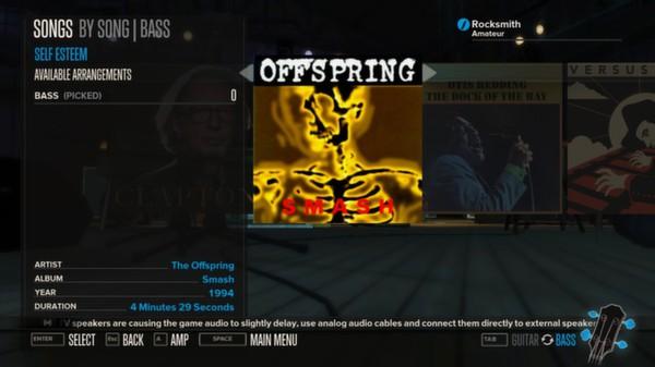 Rocksmith - The Offspring - Self Esteem (DLC)