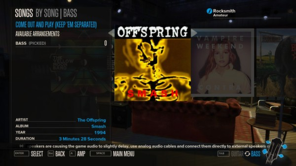 Rocksmith - The Offspring - Come Out and Play (DLC)