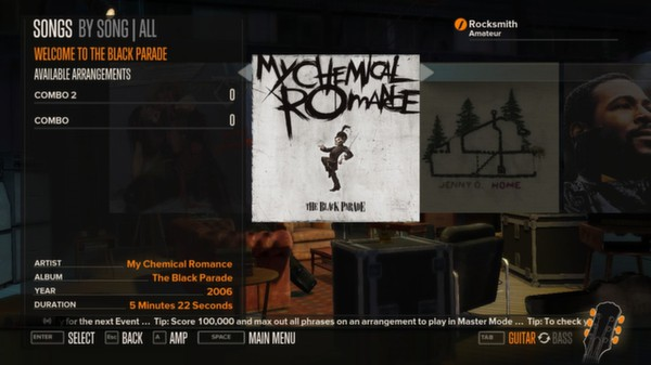 Rocksmith - My Chemical Romance - Welcome to the Black Parade (DLC)