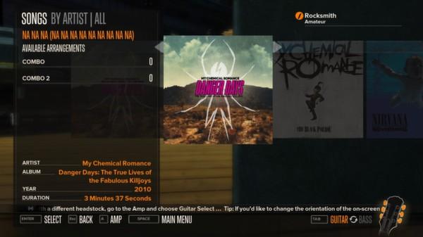 Rocksmith - My Chemical Romance - Na Na Na (Na Na Na Na Na) (DLC)