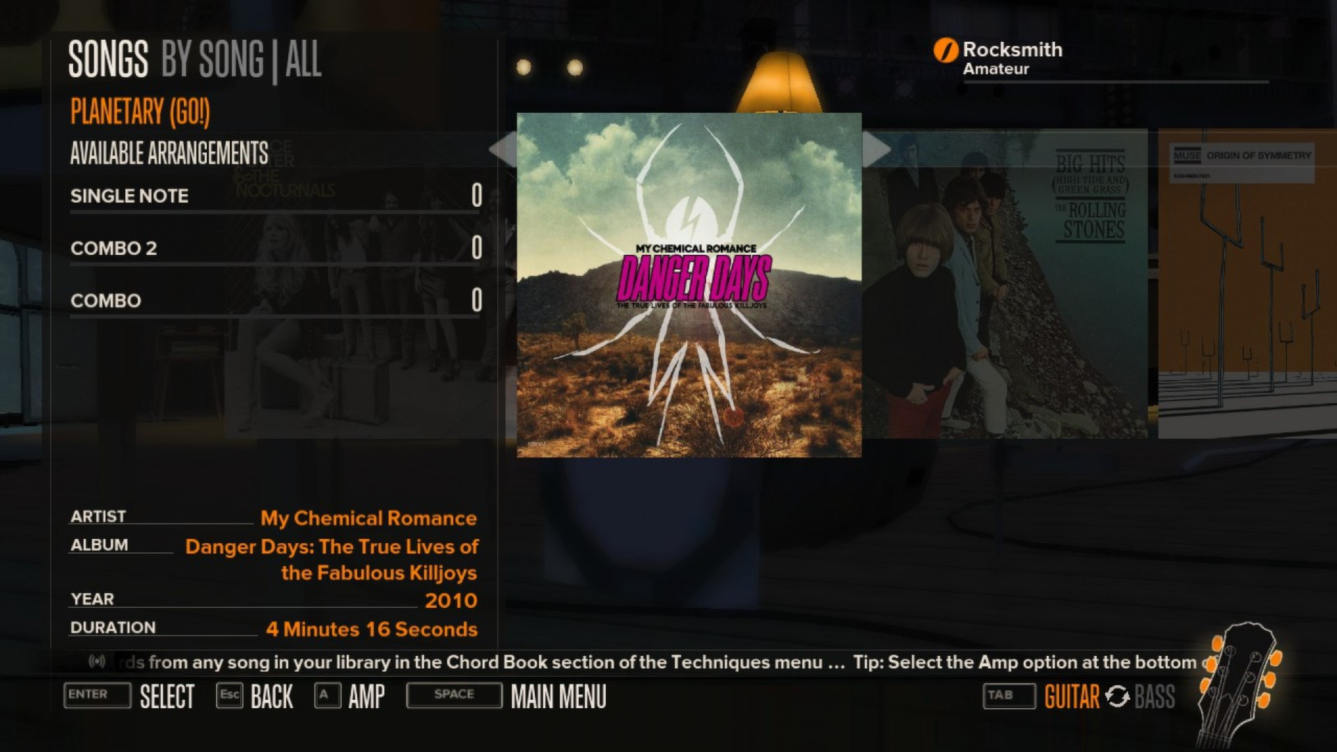 Rocksmith My Chemical Romance 3 Song Pack On Steam