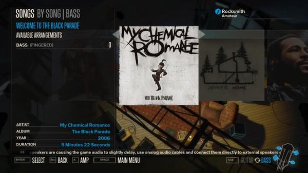 Rocksmith - My Chemical Romance 3-Song Pack (DLC)