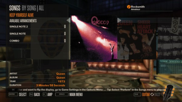 Rocksmith - Queen - Keep Yourself Alive (DLC)