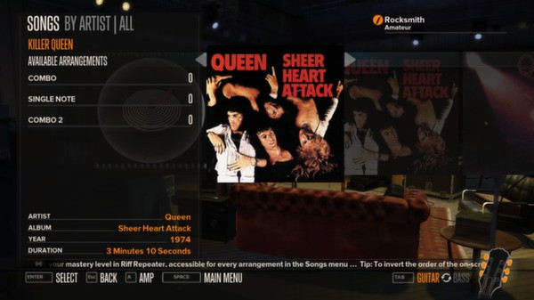 Rocksmith - Queen - Killer Queen (DLC)