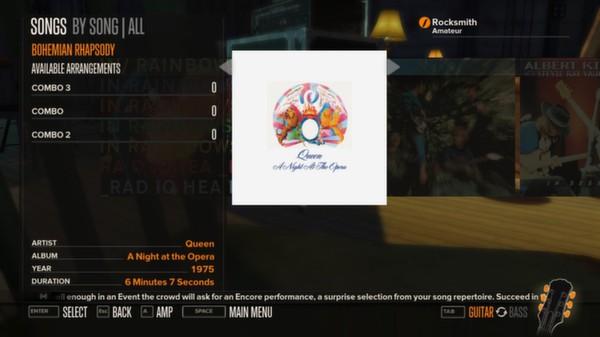 Rocksmith - Queen 5-Song Pack (DLC)