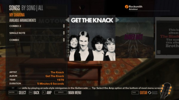 Rocksmith - The Knack - My Sharona (DLC)