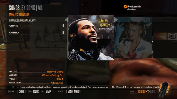 Rocksmith - Marvin Gaye - What's Going On (DLC)