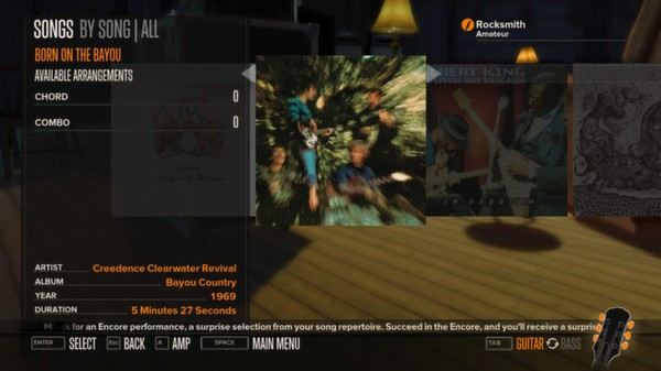 Rocksmith - Creedence Clearwater Revival - Born on the Bayou (DLC)