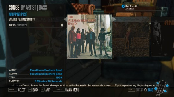 Rocksmith - The Allman Brothers Band - Whipping Post (DLC)