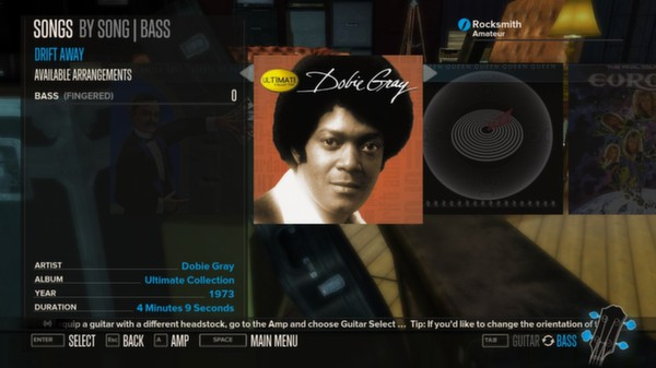Rocksmith - Dobie Gray - Drift Away (DLC)